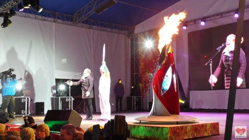 Чаша Олимпийского огня, фото группы Я♥Мурманск